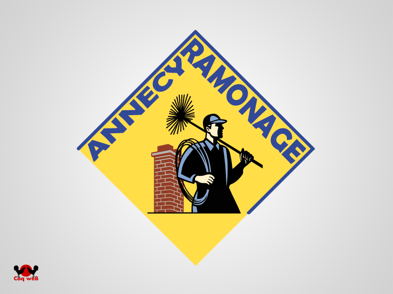 Réalisation Logo Annecy Ramonage