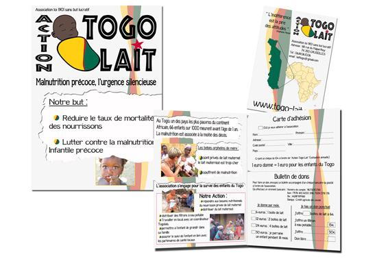 Dépliant Action TogoLait