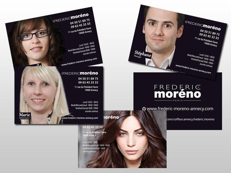 Nouvelles Cartes De Visites Pour Le Salon Frdric Morno Annecy