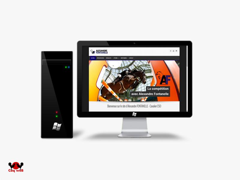 Site internet d'Alexandre Fontanelle