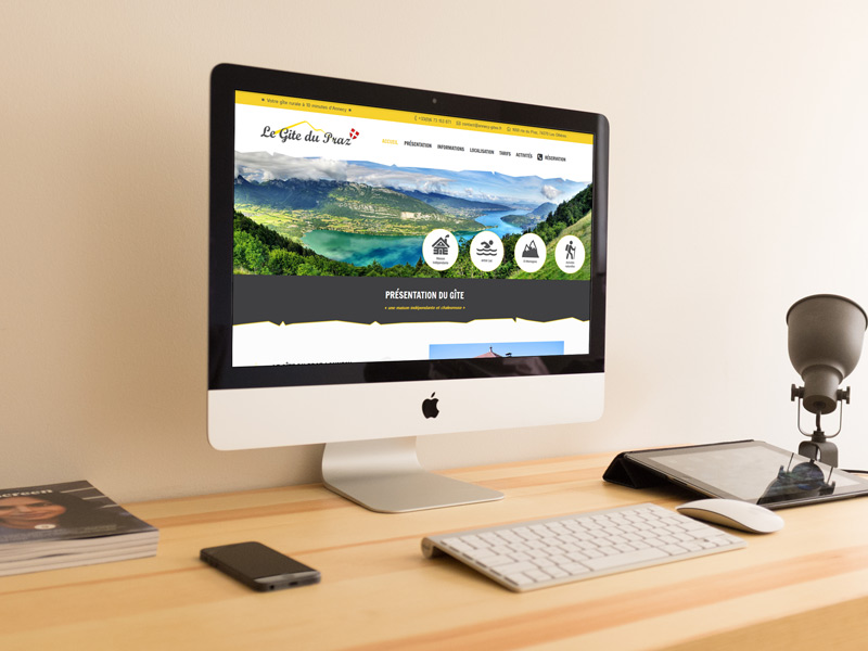 Site Web Annecy Gite