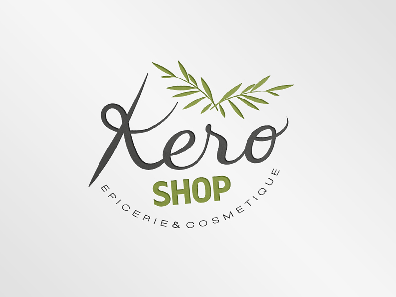 Création Logo Kero Shop