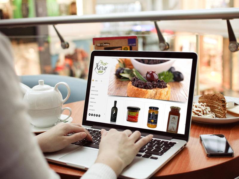 Site Web Kero Shop